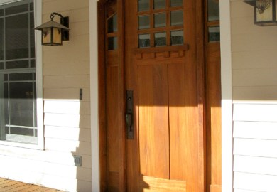 Craftsman Entry Doors With Sidelights