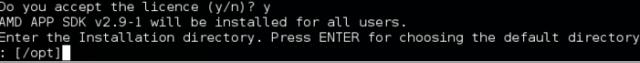 AMD APP Technology SDK installation
