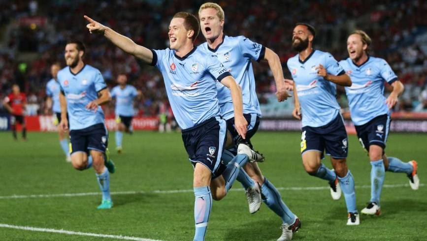 Hidden behind their strikers, Sydney FC's midfield is firing