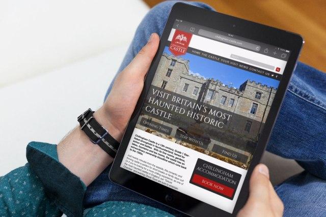 Web Design for Chillingham Castle
