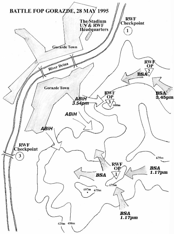 Battle for Gorazde, May 1995