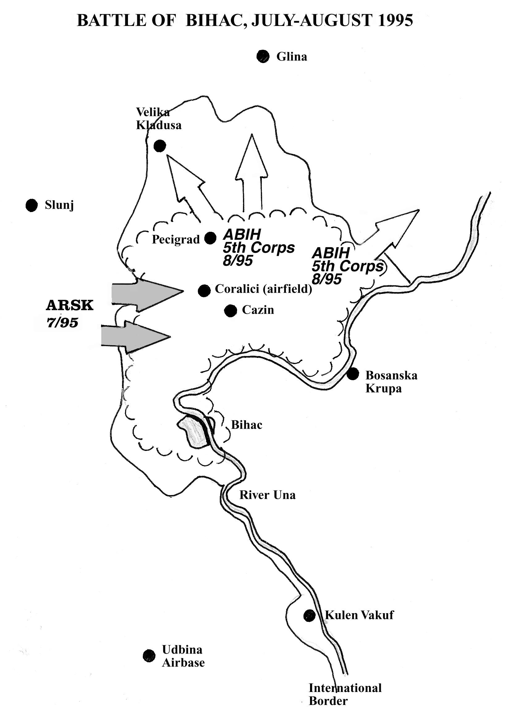 Battle of Bihac, Summer 1995