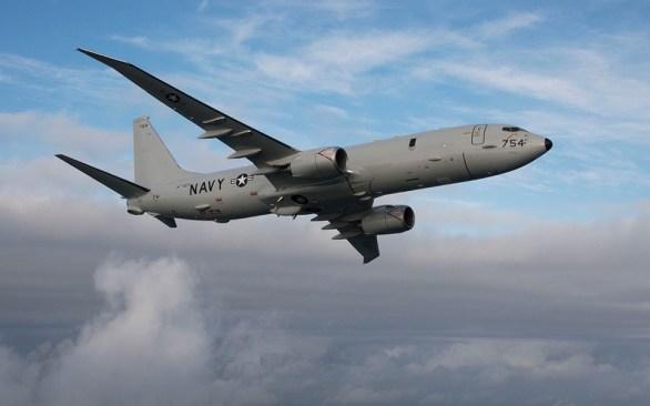 A P8 Poseidon. Image: Boeing