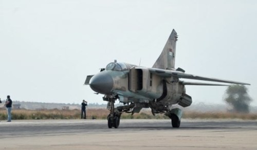 SYAAF MiG-23 - 11th January 2016