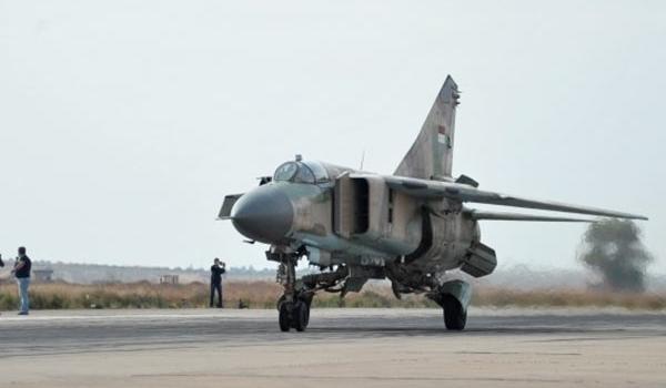SYAAF MiG-23 - 11th January 2016