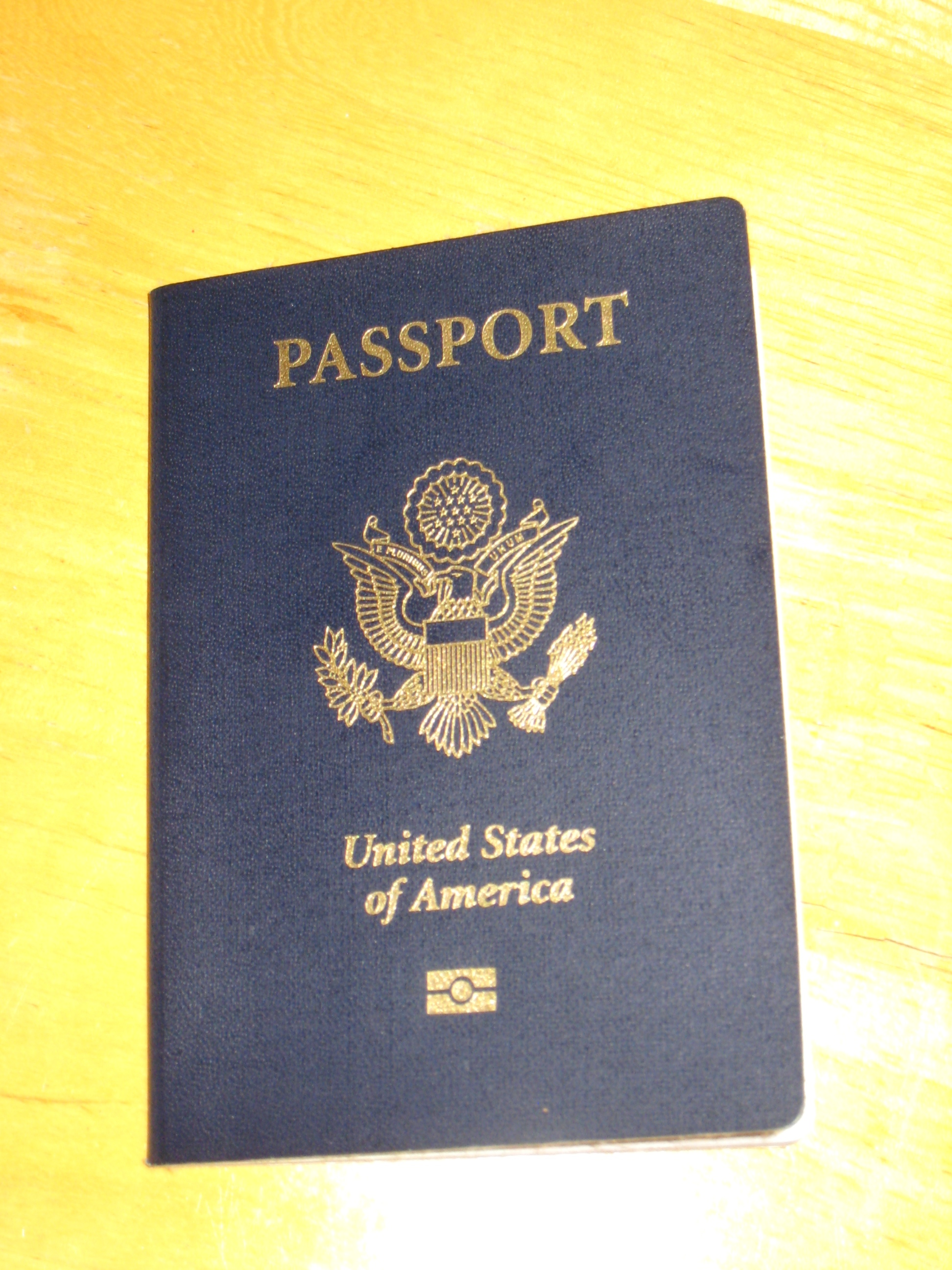 I have my Passport back.