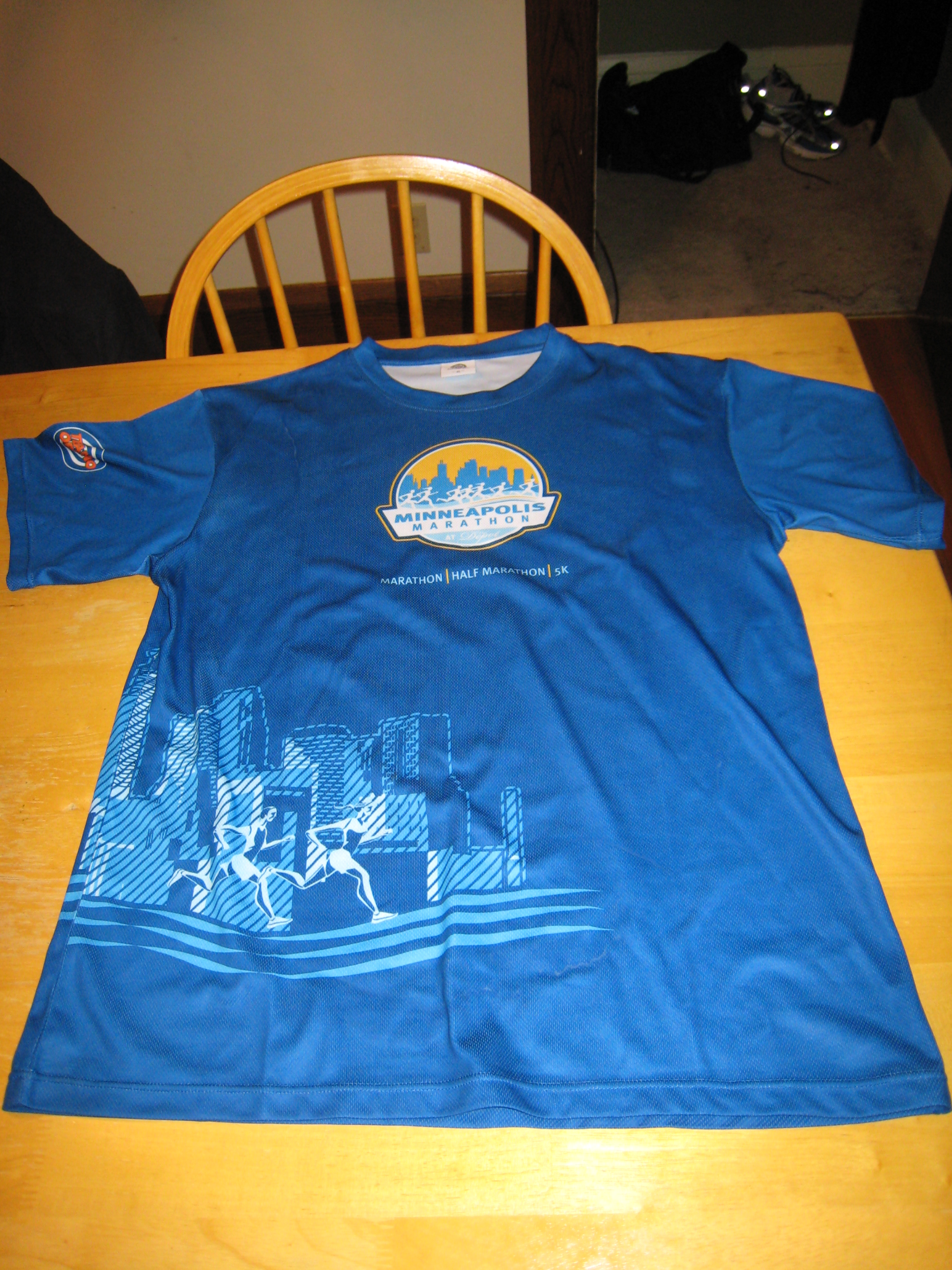 Minneapolis Marathon Race Shirt