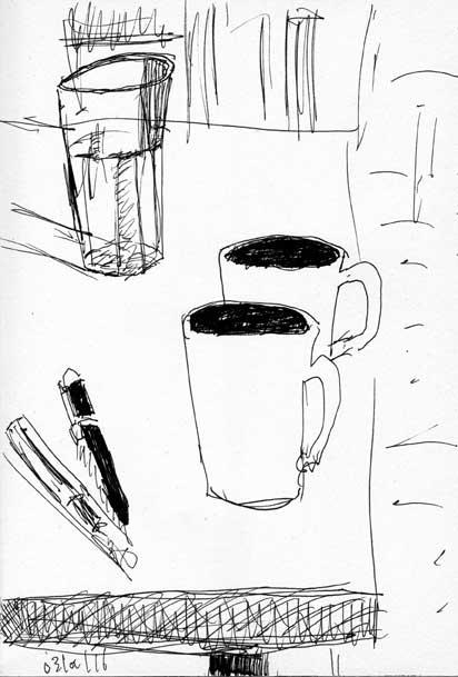 pens-mugs-glass