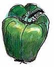 green-paprika