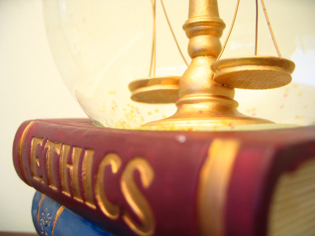 Ethics and Scales of Justice