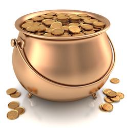 cash flow working capital Shutterstock pot of gold