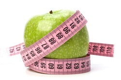 measure the apple