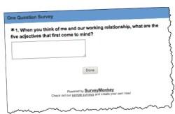 Stephen Lahey SmallBusinessTalent.com simple survey