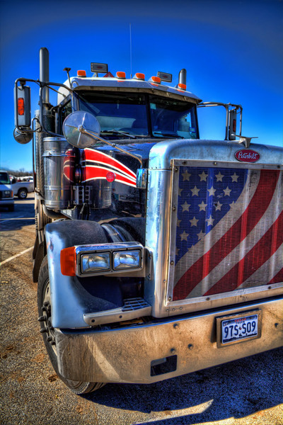We all think we own the road, until we see one of these in our rear-view mirror. It's at this point you better hope this guy is a member of the Autobots and not the Decepticons. Either way, you better pull to the other lane and let this big rig pass. Photo by Tim Stanley Photography.