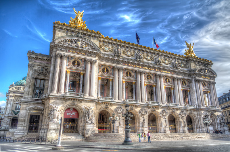 The Paris Opera House, or The Palais Garnier, is an elegant 1,979-seat opera house. Photo by Tim Stanley Photography.