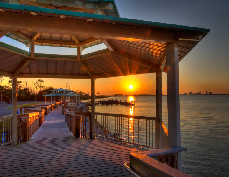 Using the LightTrac app with the satellite function, I discovered Shoreline Park while in Pensacola this year. I didn't even do a location check in the daylight, but took a chance early one morning. It proved to be a great location. Photo by Tim Stanley Photography.