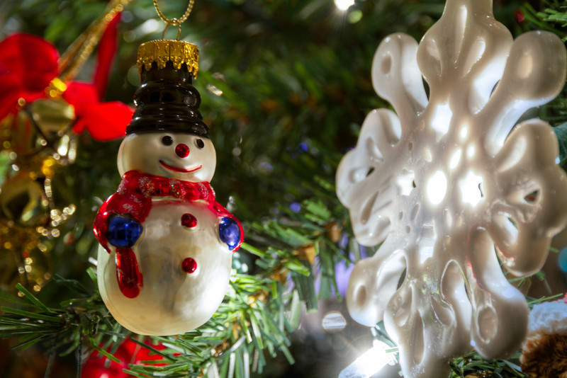 Every year, I try and take out a few minutes and reminisce about the stories behind our ornaments. I bet you and your family have a few stories hanging on your tree too. Photo by Tim Stanley Photography.