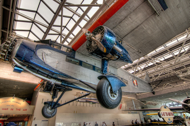 The Tin Goose was the nickname of the The Ford Trimotor.