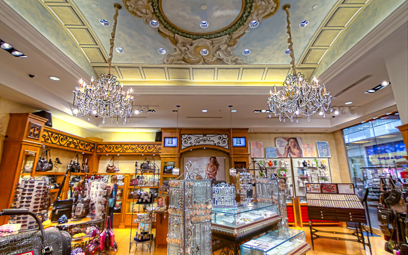 So the men will know, this is the interior of a Brighton Jewelry store.