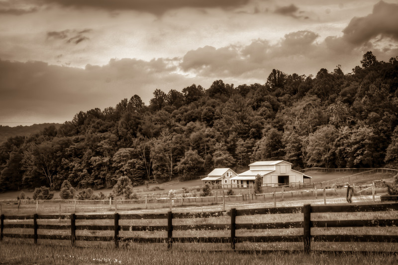 When you exit off the interstate and start cruising the backroads in the country, you get to see the country as it really is. No McDonalds, Buckee's or other tourist stop. Just the real America. Photo by Tim Stanley Photography.