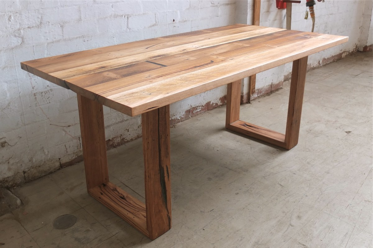 Recent Recycled Timber Tables, Made To Order