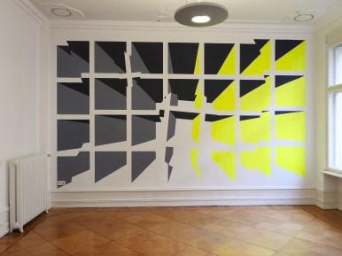 Grauzone Wandmalerei 2016 Acryl/Wand ca 3m x 5 m