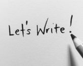 Let's write image
