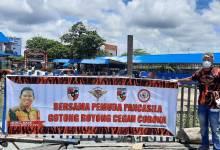 Photo of Pemuda Pancasila PPU Gotong Royong Cegah Covid-19