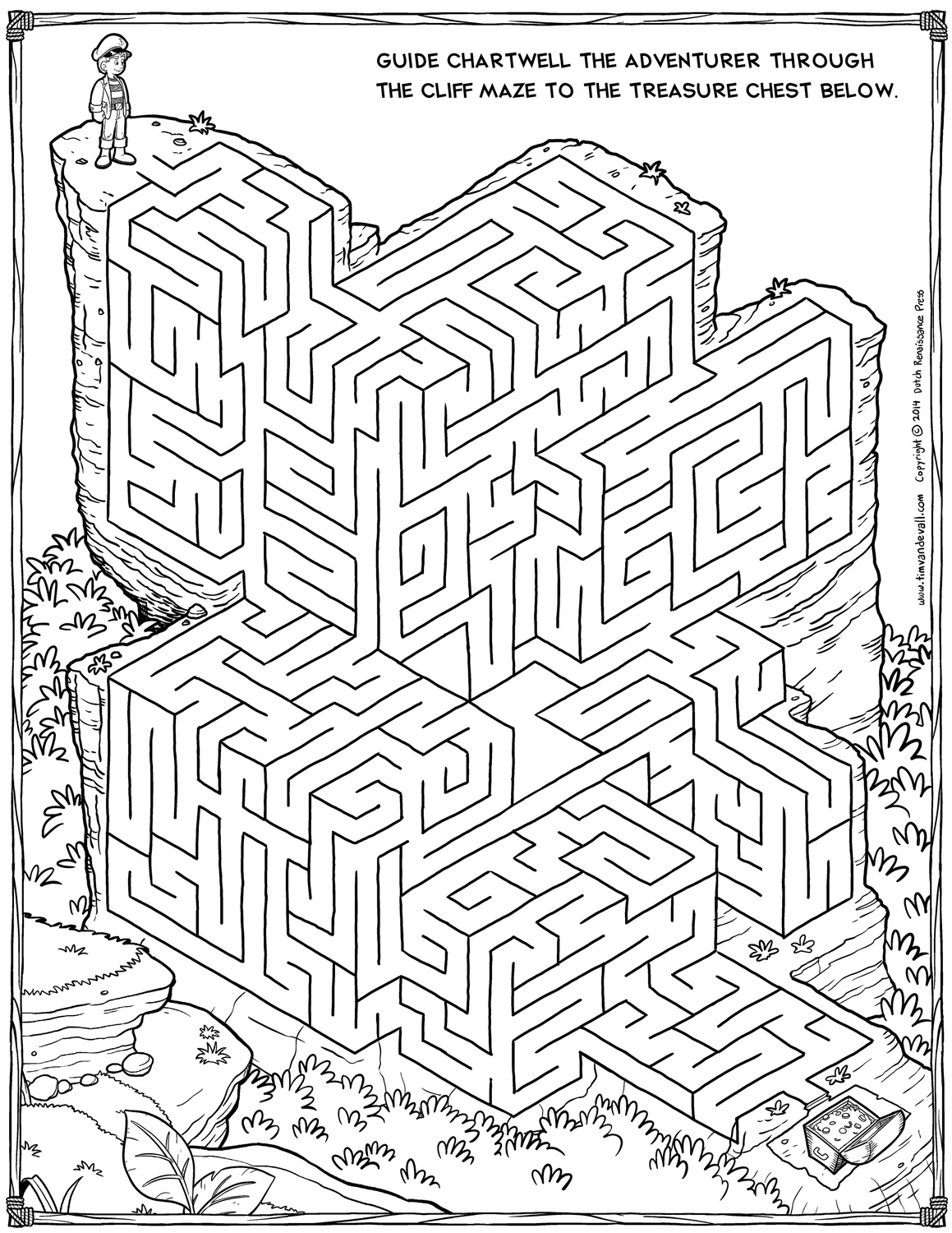 Christmas Pictures And Mazes Coloring Page Sleepy Santa Hidden