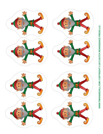 elf ornaments