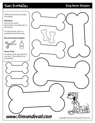 Dog Bone Shapes