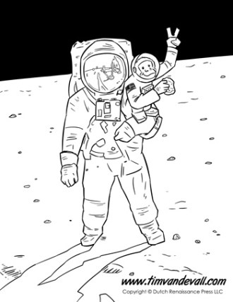 space printables for kids