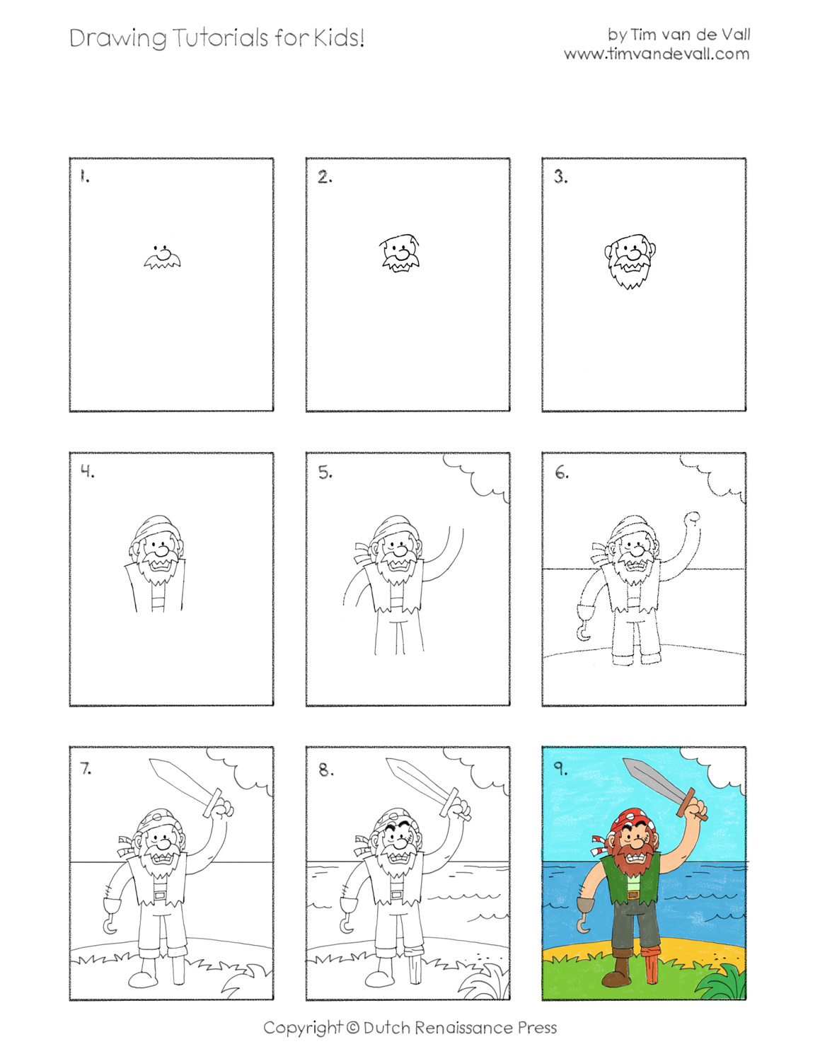 Easy Drawing Activities For Toddlers 02 Boat On Water Kids Art