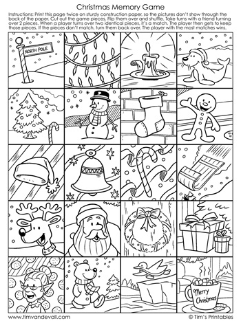 christmas-memory-game-black-and-white