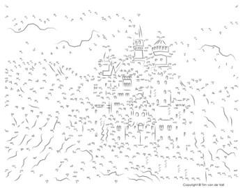 Neuschwanstein Castle Dot-to-Dot