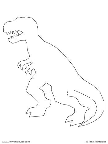 T. Rex Outline