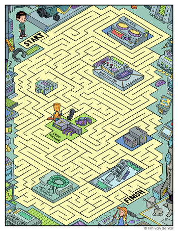 Science Lab Maze