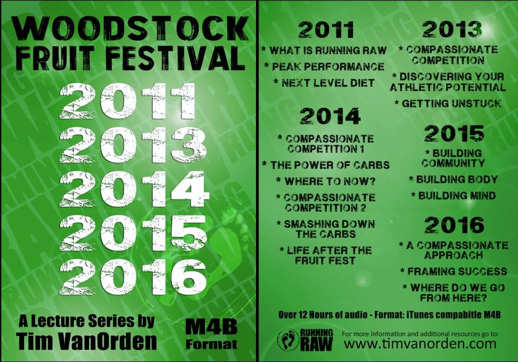 Woodstock Fruit Festival, All Talks