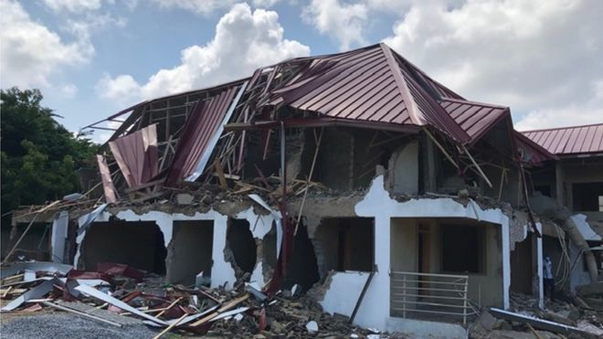Ghana apologises to Nigeria for embassy demolition