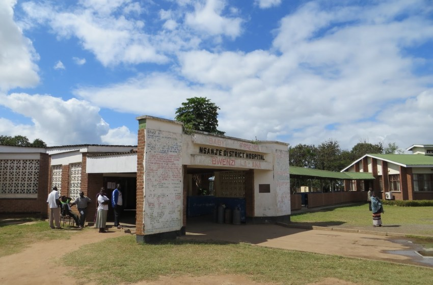 PATIENTS PAYING FOR FREE SERVICES AT NSANJE DISTRICT HOSPITAL