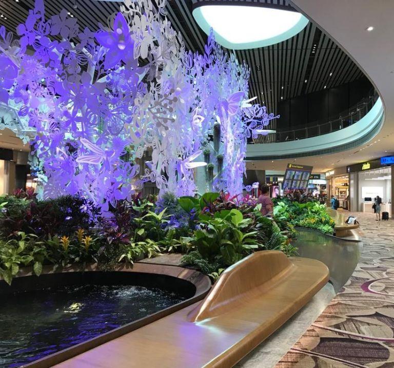 Airport Singapore prikkels
