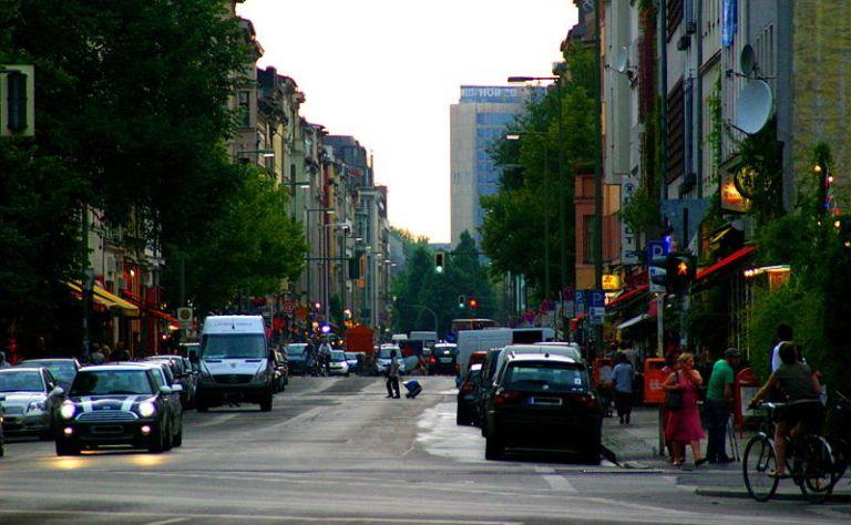 kreuzberg doe Oranienstrasse Oost-Berlijn
