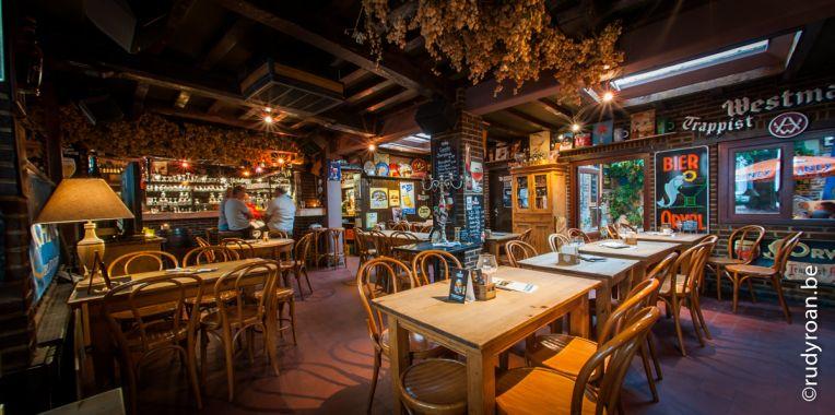 Trappistenhuis gent kroegen cafe bier restaurant hotel