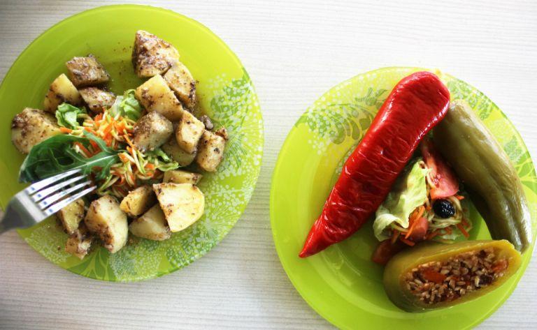 kapana wijk veggic ontbijt lunch plovdiv