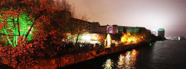 Yaam Berlin chillplekken Oost-Berlijn open air