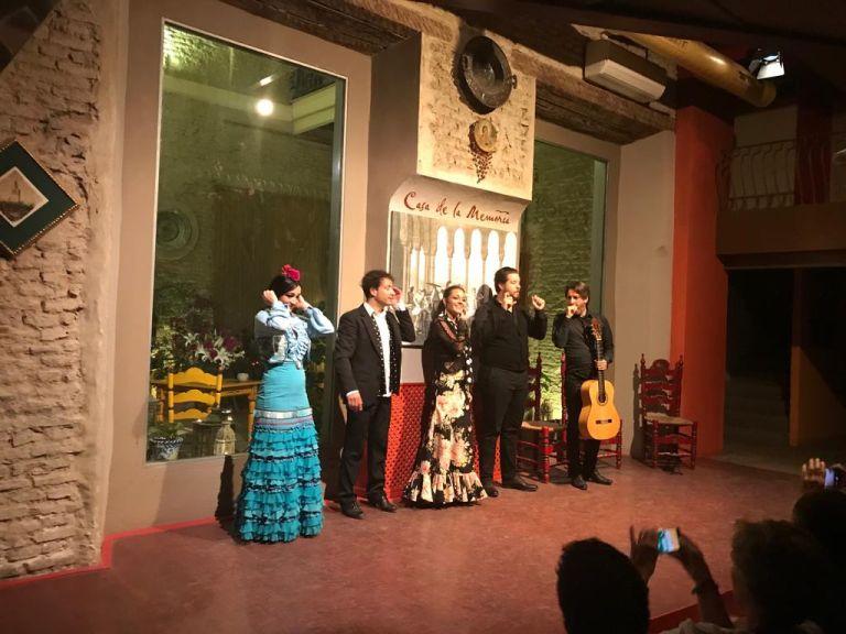 10 x doen in temperamentvol sevilla flamenco