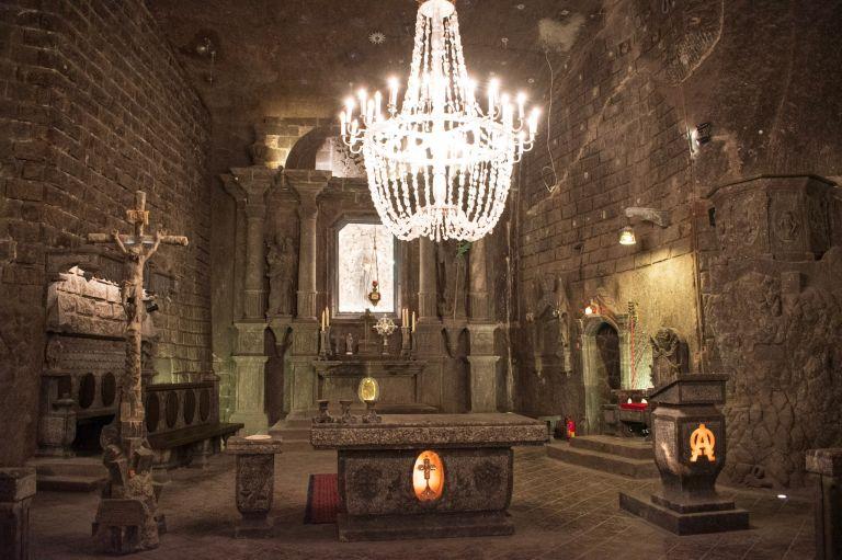 8x doen in historisch krakau Wieliczka zoutmijn