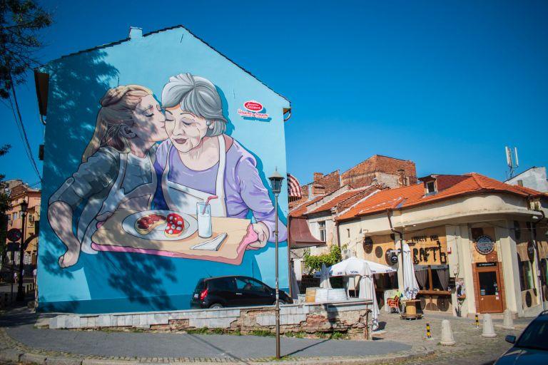 Street Art in Kapana Plovdiv