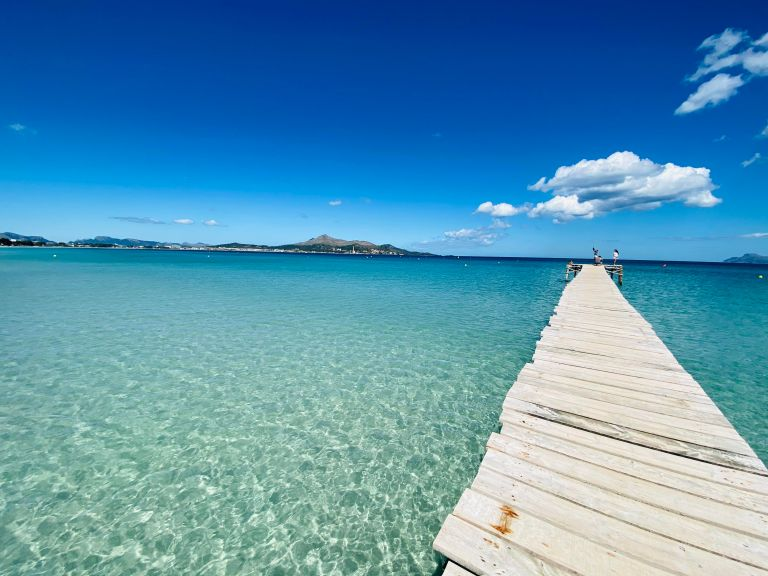 Brede zandstranden op Mallorca. doen op mallorca