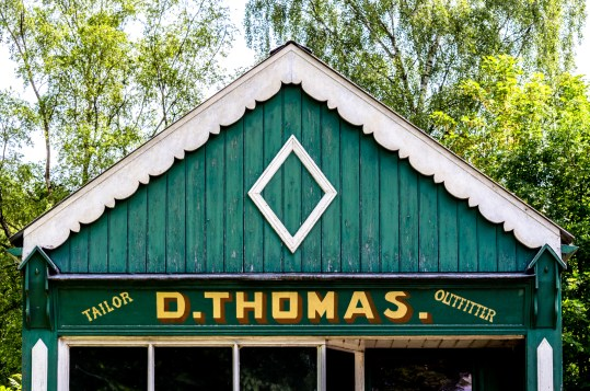 D. Thomas Tailor / Outfitter, St Fagans National History Museum